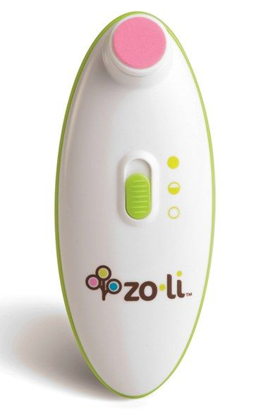 Free shipping and returns on ZoLi 'BUZZ B.™' Nail Trimmer at Nordstrom.com. ZoLi BUZZ B. nail trimmer uses a unique motion and cushioned pads to gently and easily file tiny fingernails without harming surrounding skin.