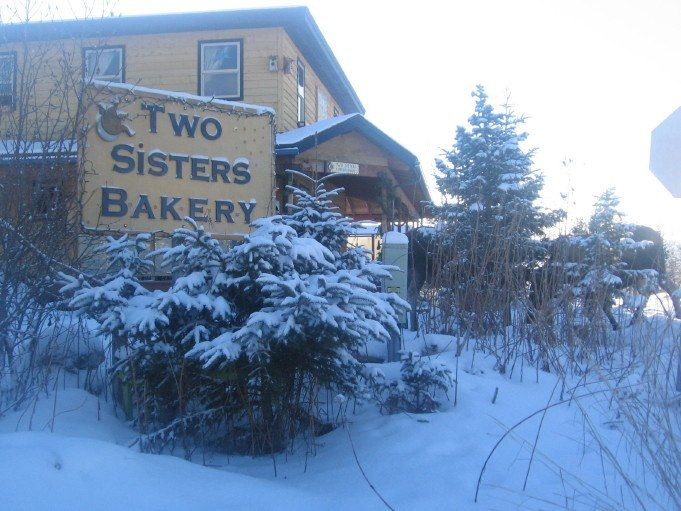 If you are ever in Homer, AK...you must check out Two Sisters Bakery.  Best pastries of my life.