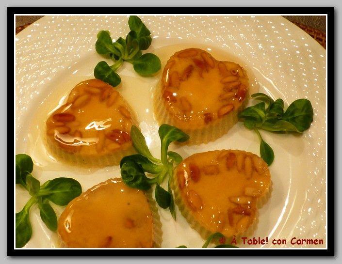 À table ! con Carmen: Espuma de Foie con Gelatina de Moscatel