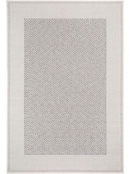 In- & Outdoor Rug Layton Border Grey 200x285 cm
