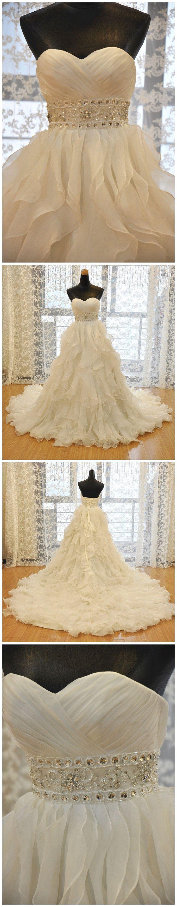 ball gown wedding dress,organza wedding dress,bridal wedding dress,royal wedding dress