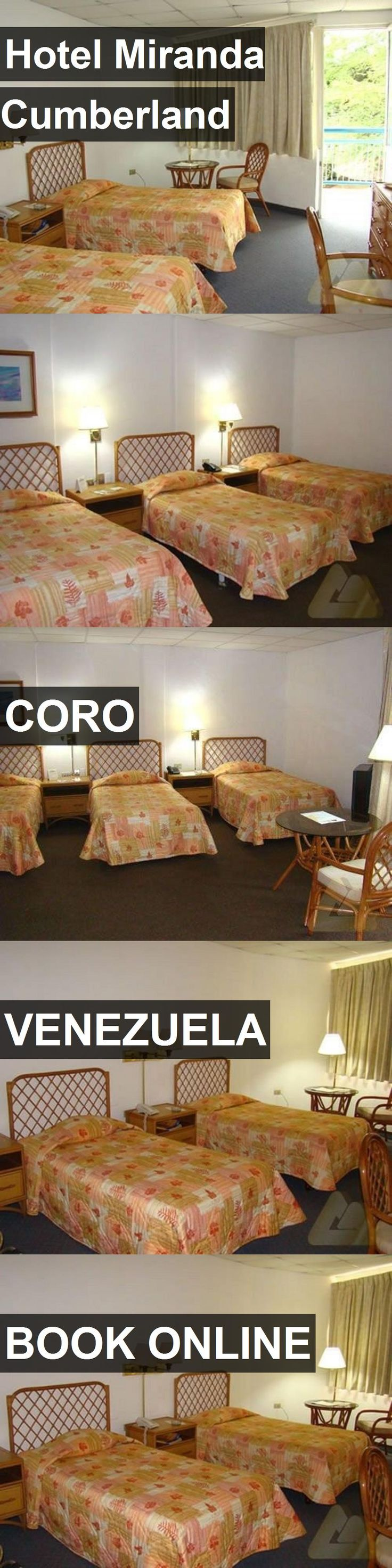 Hotel Miranda Cumberland in Coro, Venezuela. For more information, photos, reviews and best prices please follow the link. #Venezuela #Coro #travel #vacation #hotel