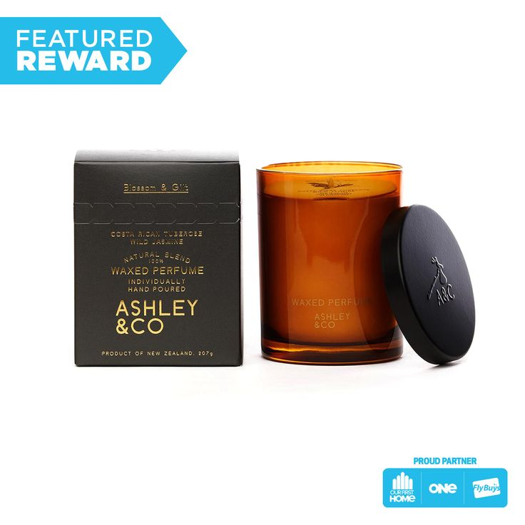 Ashley and Co Waxed Perfume #flybuysnz #ashley&co #225points #OFHNZ