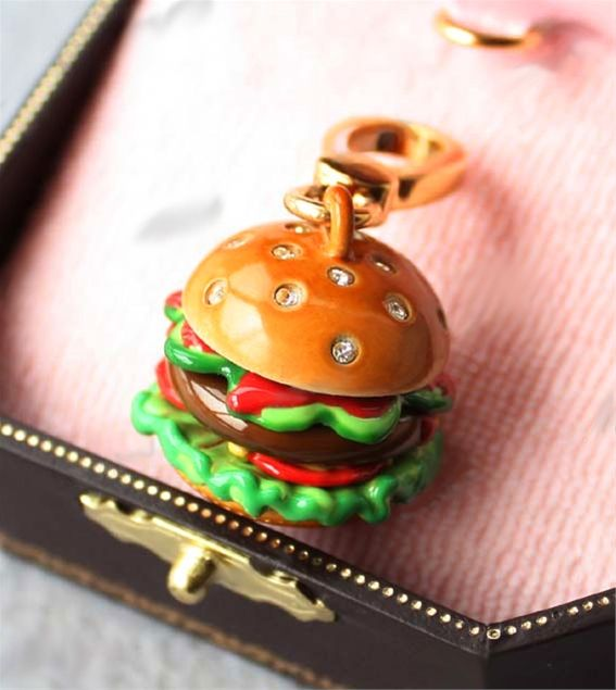 Juicy Couture Rare Charms   Brand new Juicy Couture Hamburger Charm (Rare)
