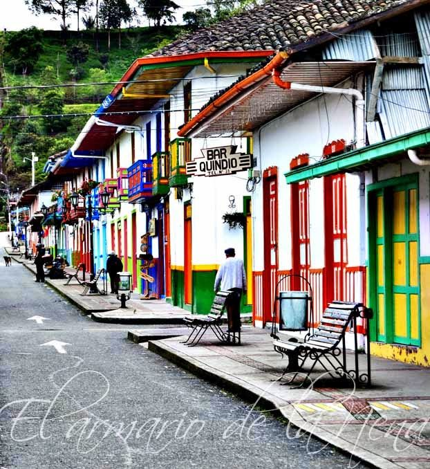 Salento, COLOMBIA One of the loveliest towns on the planet :)