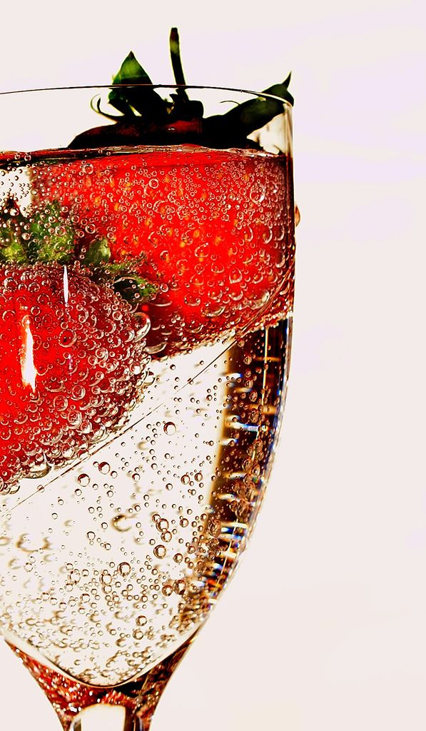 Strawberries and champagne.