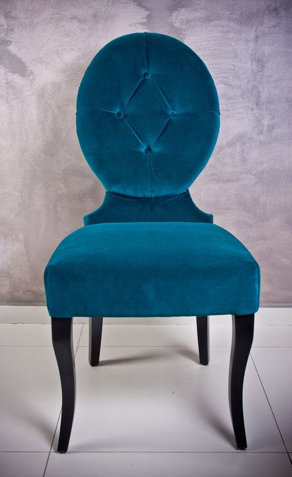 Türkiz szék / turquoise chair by mullermonika on Etsy, $640.00