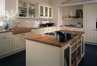 Einrichten im Landhausstil: Eine Landhausküche mi…
