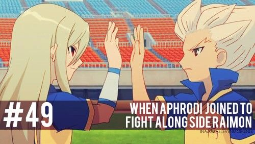 #49 Inazuma Eleven Moments: When Aphrodi joined to fight along side Raimon.