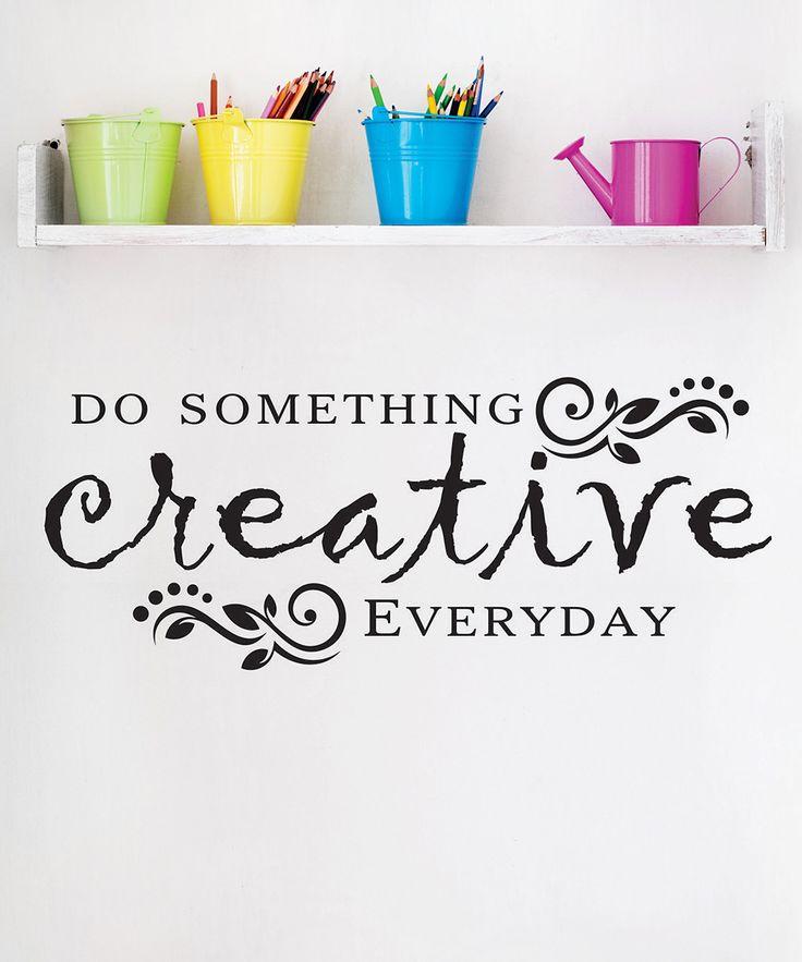 46 best craft room quotes images on pinterest. Black Bedroom Furniture Sets. Home Design Ideas
