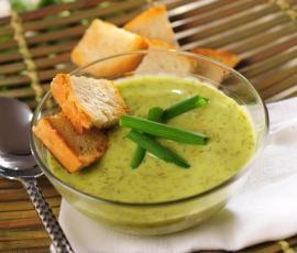 Recept Krémová bylinková polévka od Vorwerk vývoj receptů - Recept z kategorie Polévky
