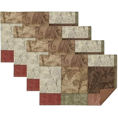 mainstays tuscany placemats set of 4 projects to try