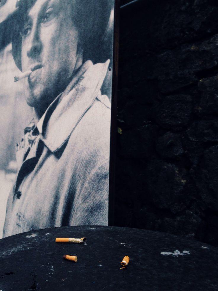 Man Smoking #cigarettes #street #industry #old #man #smoking #industrial