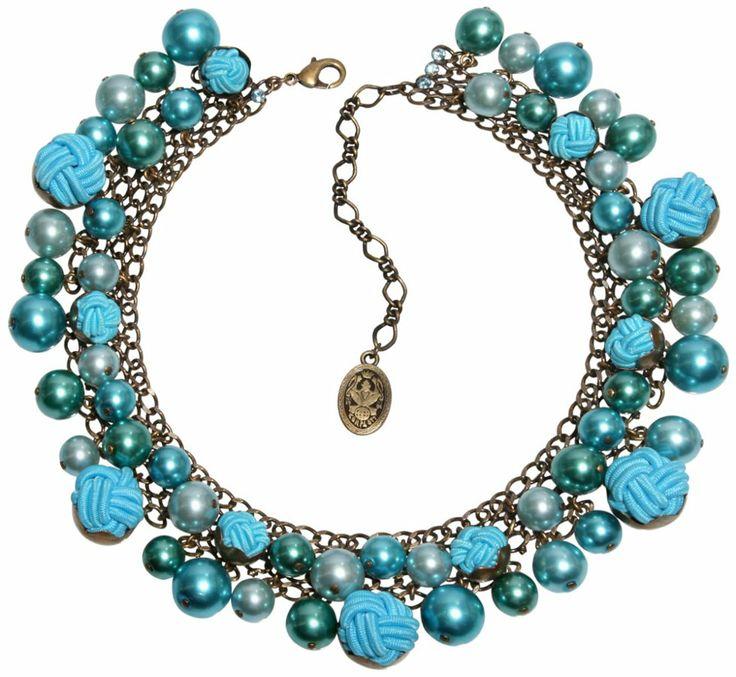 Turkusowe perły są piękne...