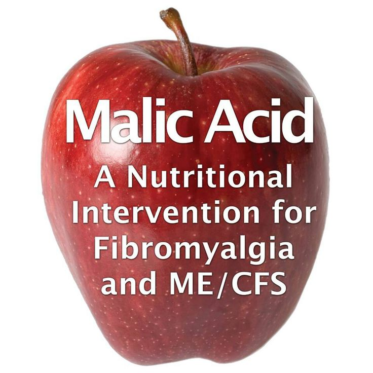 Malic Acid and Magnesium supplements