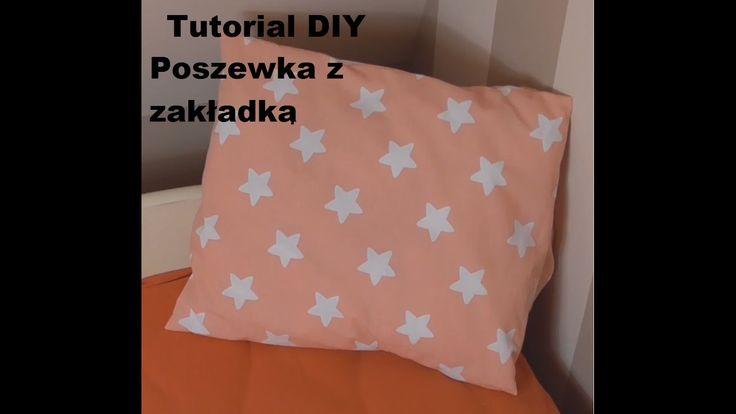 Szyjemy poszewkę na poduszkę | Pillow |  Tutorial DIY