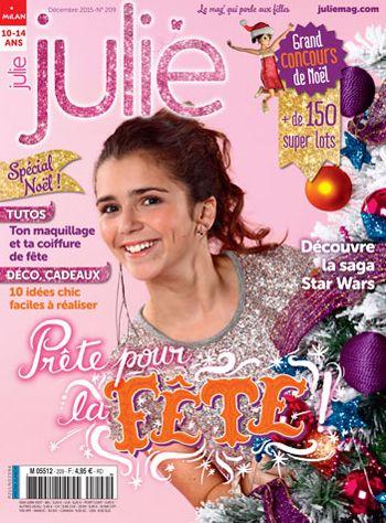 """Au sommaire  : Journal intime : Confidences/  / Zoom : Un Noël 100 % récup Reportage : Aude, monitrice d'équitation / Ça fait débat : Vas-tu devenir fan de """"Star Wars"""" ?/ Un jour, une fille : Aliénor d'Aquitaine / Mode : Le goûter enchanté d'Alice au pays des merveilles"""