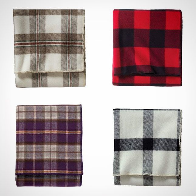 Nothing says plaid like a Pendleton wool blanket.