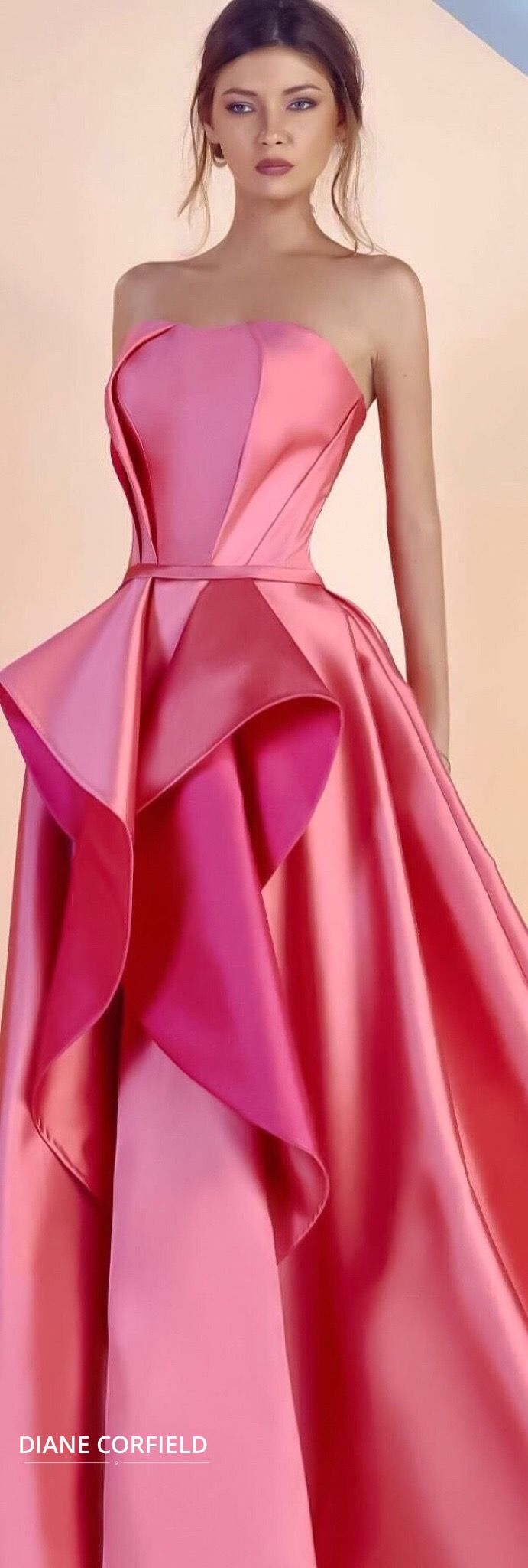 gorgeous pink gown