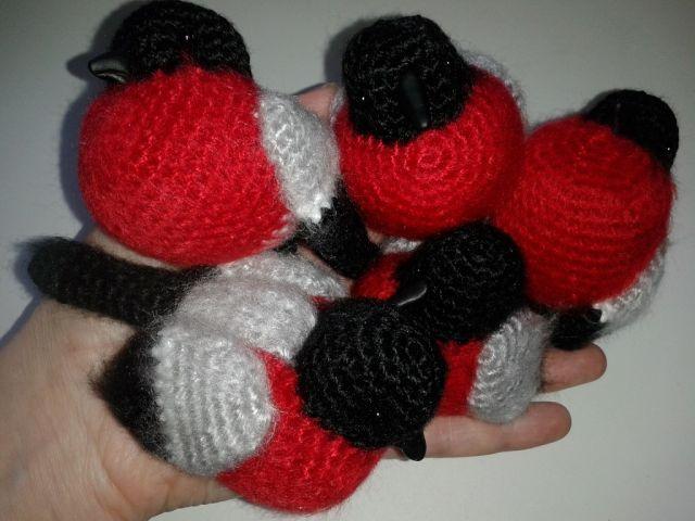 Снегири - Рукотворчество - Галерея - Форум почитателей амигуруми (вязаной игрушки)