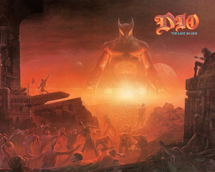 Dio — The Last In Line (1984)   Hard Rock / Heavy Metal