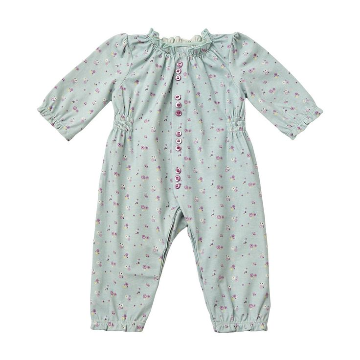 Toffeemoon Seagrass Floral Playsuit