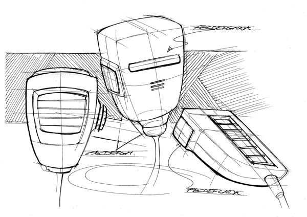 Rough study sketch-10min by Hyosang Pak, via Behance