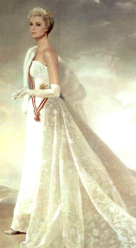 Ralph Wolfe Cowan (b.1931)   — HSH  Princess Grace of Monaco,  1956   (549x1000)