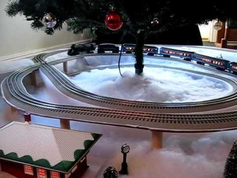 Polar Express Train Layout