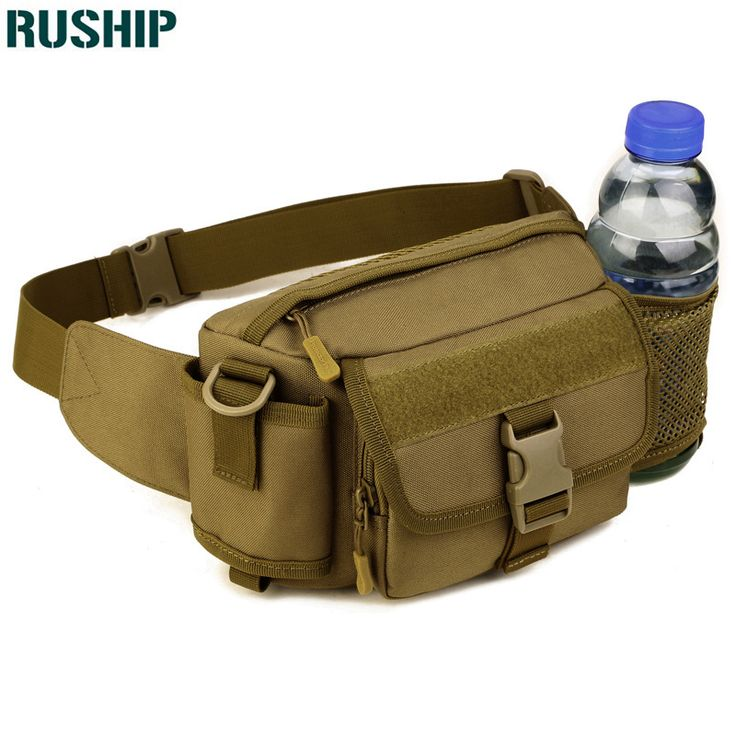 Tactics Military Men Belt Bag Waterproof  Nylon Sports Men EDC Waist Pack Hunting Camouflage Messenger Shoulder Bag Outdoor bag