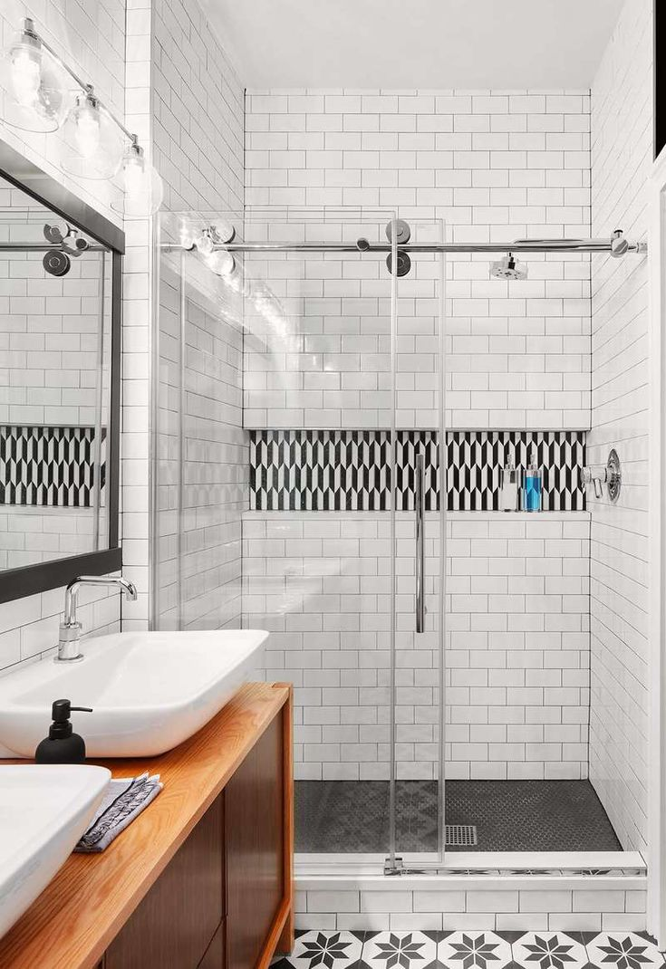 These Unexpected Subway Tile Bathroom Ideas Are Anything