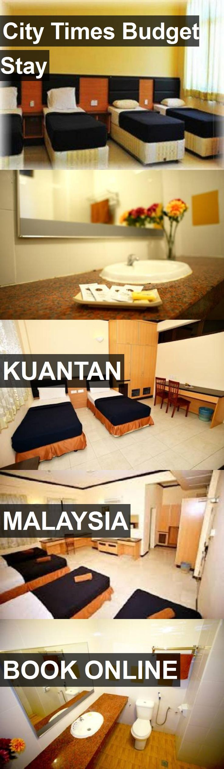 Hotel City Times Budget Stay in Kuantan, Malaysia. For more information, photos, reviews and best prices please follow the link. #Malaysia #Kuantan #CityTimesBudgetStay #hotel #travel #vacation