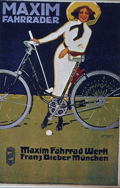 Bicycle vintage advert | Cycles retro poster | #Bicycles #Vintage #retro