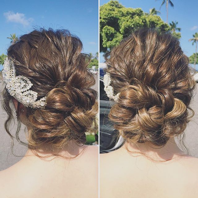 昨日のヘアの詳細です ジェニーパッカムのかわいいカチューシャをボンネ風につけて…