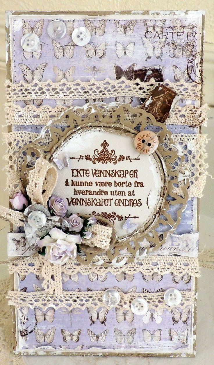 Stempelglede :: Design Team Blog. Rubber stamps used for this project: Følg hjertet ditt, Post Card from Paris and Vintage Garden stamp sets. 2015 © Merete Kildahl Jaklin