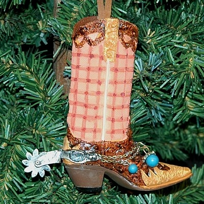 Western Christmas Ornaments, Cowboy Christmas Ornaments, Western Christmas Ornaments