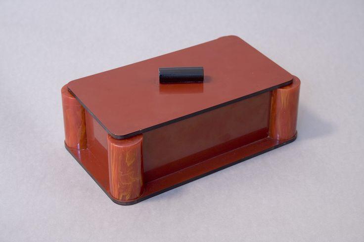 Caja para cigarrillos de baquelita