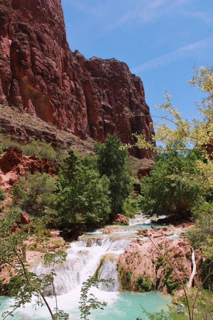 Grand Canyon Pa Directions%0A Once you have made the fabulous hike to the iconic Havasu Falls in Grand  Canyon National Park and set up camp at Havasupai Campground  several  possible