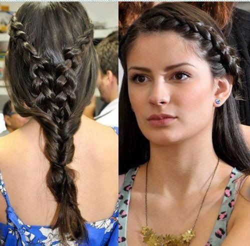 Different Hairstyles freeflow frizzy hairstyle 283 Best Braid Hairstyles Images On Pinterest Hairstyles Braids And Make Up