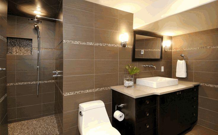 die besten 25 braune fliesenbadezimmer ideen auf pinterest master bad dusche dusche. Black Bedroom Furniture Sets. Home Design Ideas