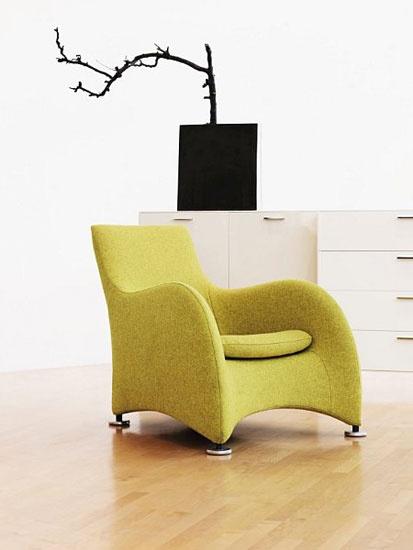 Loge Chair - Gerard van den Berg for Montis - Context