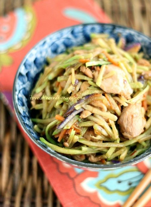 Easy chicken stir fry! An easy low carb, dairy free, gluten free, and keto friendly recipe for chicken stir fry! Get your Asian fix the healthy way! Atkins, gluten free, low carb, keto, paleo friendly.