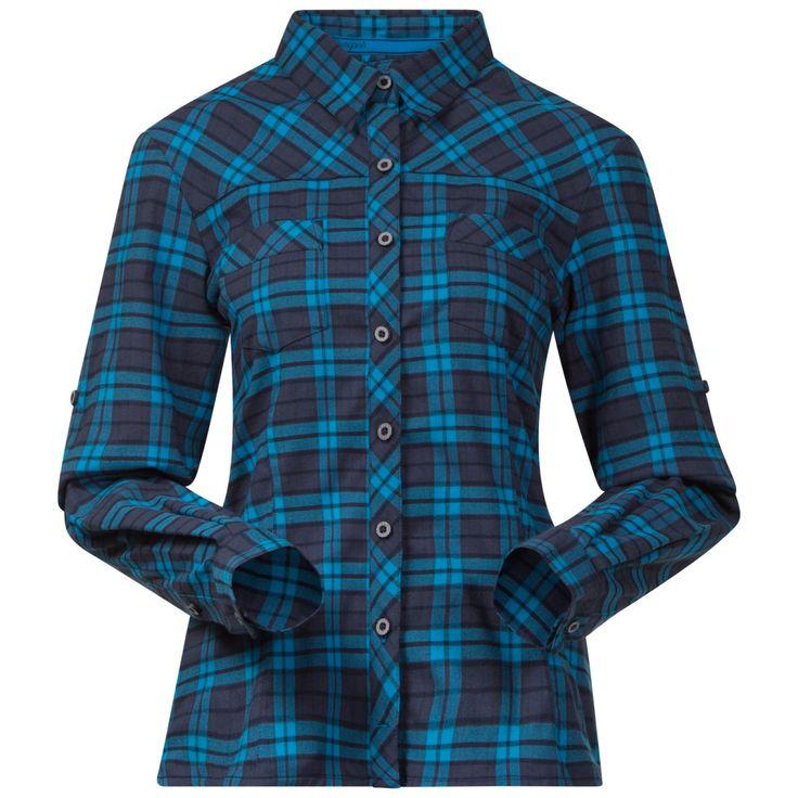 Granvin Lady Shirt från Bergans är en lätt skjorta i ett mjukt och bekvämt stretchigt flanneltyg. God andingsförmåga och torkar snabbt vilket gör den passande för både vandring och till vardags.