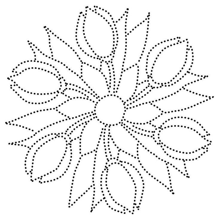Mandala Dot Paint Pattern Mandala Design Pattern Candlewicking