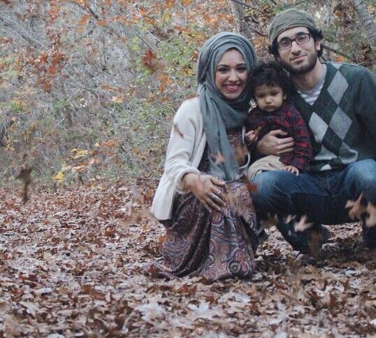 Beautiful Family Masha'Allah !!