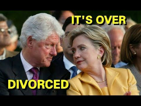 Breaking News:Hillary and Bill Clinton Are DIVORCED See Why