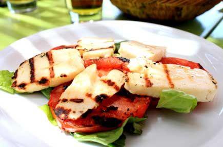 Συνταγές με Χαλούμι / Χαλούμι στα Κάρβουνα με Θυμάρι και Λουίζα / thefoodproject.gr