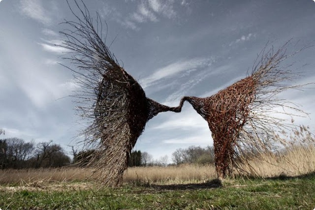 magic work sculpture by Karin van der Molen