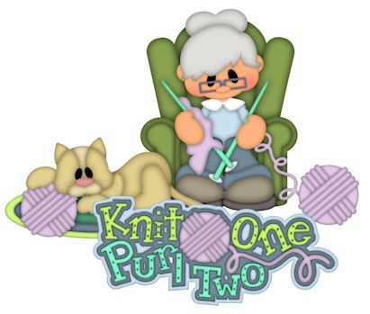 Knit One Purl Two Patterns & Cutting Files (SVG,WPC,GSD,DXF,AI,JPEG)
