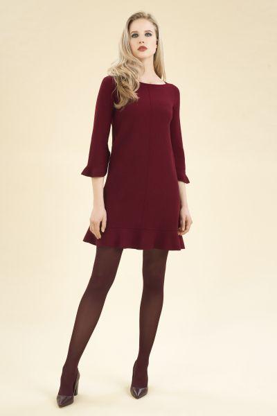71cef3fb5744 Stretch woven wool dress